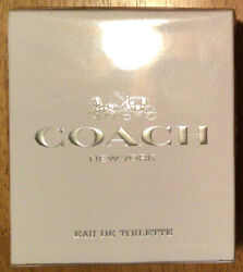 COACH NEW YORK by Coach for women EDT 3.0 oz New $29.99