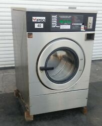 Ipso Front Load Washer, Coin Op, 40lb 3 Ph 240v 60hz, Serial 19012567 [refurb.]