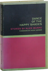 Alice Munro Dance Of The Happy Shades - Her First Book - 1st Ed/dj 1968 Nf/nf
