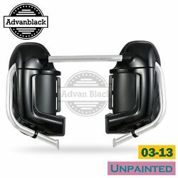 Advanblack Unpainted Lower Vented Fairing Set For Harley Hd Road Glide 03-13
