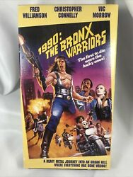 1984 Vintage 1990 The Bronx Warriors Vhs Tape 84 Minutes Rated R Tested Works