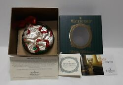 Waterford Holiday Heirlooms Four Calling Birds 12 Days Xmas Ornament Ltd Ed