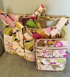 Vera Bradley Three Handbags Portobello Crossbody Over The Shoulder Hipster $69.99