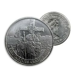 Canada 1984 1 Jacques 450th Anniversary Dollar Coin