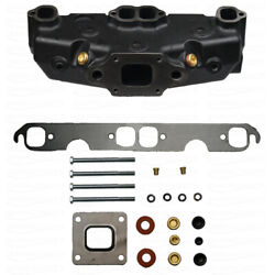 Exhaust Manifold Mercruiser Gm V8 5.0 5.7 Mpi Dry Joint Marine Replace 865735a02