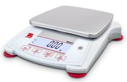 Ohaus Spx6201 Lab Balance,compact Gold Portable Scale,6200gx0.1g, Ac Adapter,new