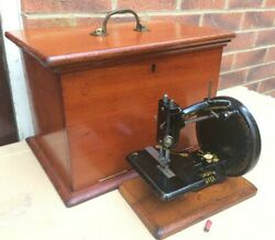 Antique Hopkinson Brothers Of Doncaster Lockstitch Sewing Machine