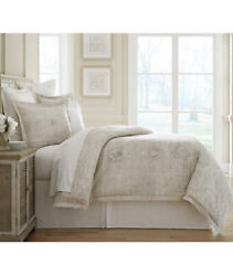 Southern Living Gentry Full/queen Duvet Cover Mini Set W/ Two Shams New Nwt 329