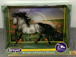 Breyer 70th Anniversary ANDALUSIAN Limited Edition #1825 NIB Sharp