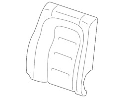 Genuine Ford Seat Back Cover Gd9z-5466600-nl