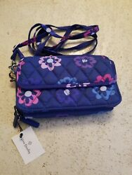 Vera Bradley All In One Crossbody for iPhone 6 Ellie Flowers NEW NWT $28.00
