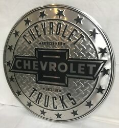 24 Chevrolet Trucks Metal Sign New / Chevrolet Signs / Chevy Signs / Truck Sign