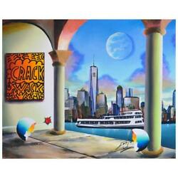 Ferjo Ny Freedom Original Painting On Canvas Hand Signed.