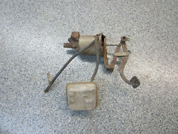 1958 Chevy Chevrolet Impala Belair Treadle Vac Power Brake With Pedal Can Kit