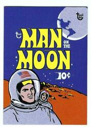2018 Topps 80th Anniversary Cards- Card 61 Man On The Moon 1969 Wrapper Art