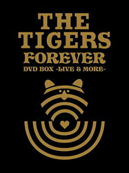 Tigers-the Tigers Foeever Dvd Box -live And More--japan 5 Dvd+book Ltd/ed Bj45 Qd