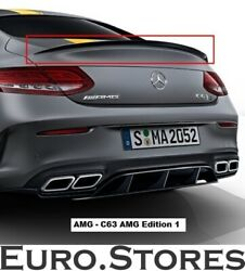 Mercedes-benz C63 Amg Edition 1 Lip Spoiler For C-class Coupe C205 Genuine