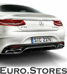 S 63 Amg Coupé Diffuser And Exhaust Tips Mercedes-benz S-class Coupé C217 New