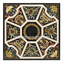 42 Marble Dining Table Top Pietradura Mosaic Inlaid Occasional Decor Gift B321a