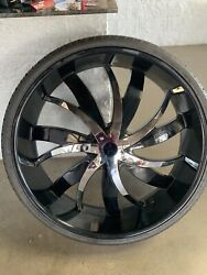 34 Inch Tire And Wheel1