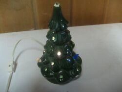 Beautiful Small Ceramic Christmas Tree All In One No Base No Lights 8 Tall