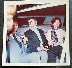 Groucho Marx Hand Sign Autograph With Orig,color Snap Shot Photo