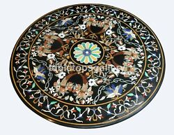48 Marble Top Dining Table Multi Stone Inlaid Pietra Dura Occasion Decors B358b