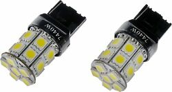 7440w-smd Dorman Led Bulbs Front Or Rear Inner Interior Inside Chevy Set Of 2