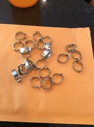 Nos Ford Mustang Chevy Mopar Gas Clamps .590 Lot Of 1500