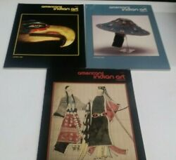 3- American Indian Art Magazines Spring, Summer, And Winter 1992