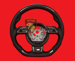 Audi Rs4 A4 Carbon Steering Wheel Real Carbon Made In Germany .