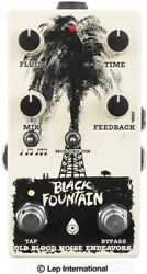 New Old Blood Noise Endeavors Black Fountain V3 W Tap Tempo Effector From Japan