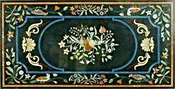 28x55 Marble Top Dining Table Multi Birds And Floral Inlay Hallway Decors B413a
