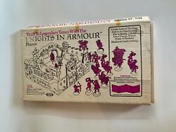 Ideal Toy Corp, Knights In Armour Playset, 1973, Rare, Toy, No 59803