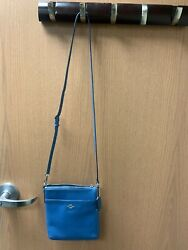 💙🤍💙 Cross Grain Blue Coach CROSSBODY Coach Purse. $46.00