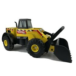 Vintage 90's Mighty Tonka Front End Loader 728 Classic Metal Plastic Childs Toy