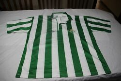 T-shirt Official Real Betis Football Size Xl Hotshot 1992/93 Various Matches