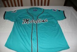 T-shirt Official Of The Major Baseball League Marlins Miami Brand Starter Size L