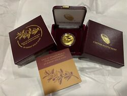 2020-w United States End Of World War Ii 1/2oz Gold Proof Coin