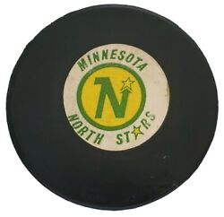 Minnesota North Stars Approved Nhl Official Game Puck Vintage Viceroy Mfg. 🇨🇦