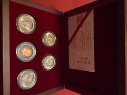Jfk 6-pc Coin Collectible.50 Silver 1964-1968 Rainbow1982 Gem Proof2020-new
