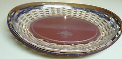 Longaberger 2009 American Celebrations Contour Swoop Tray Basket With Protector