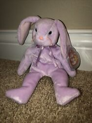 Perfect 1996 Rare Ty Beanie Baby Floppity Bunny With Several Errors Origiinal