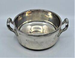 Antique Sterling Silver Double Vegetable Dish Bowl R And S Garrards And Co England