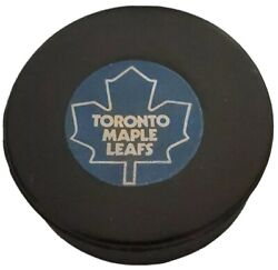 Toronto Maple Leafs Approved Nhl Official Game Puck Vintage Viceroy Mfg 🇨🇦 Gem