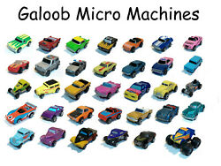 Micro Machines Cars 80s Retro Toys Cars Deluxe Insiders Micro Light