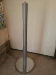 Parking Meter Stand With Mounting Hardware For Duncan Pom, Rockwell ,