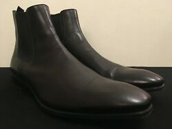 PRADA Men#x27;s Chelsea Boot 12 UK 13 USA Beautiful Shoes In Excellent Condition $300.00