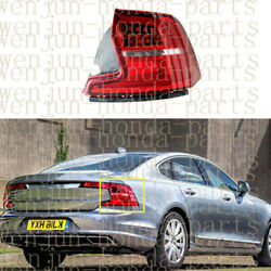 Right Outer Side Tail Light Brake Lamp Assembly Led For Volvo S90 2017-2019