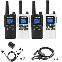 Fwcn30a Two Way Radio 22 Channels With Noaa Weather Alert Rechargeable